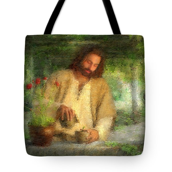 Nurtured By The Word Tote Bag
