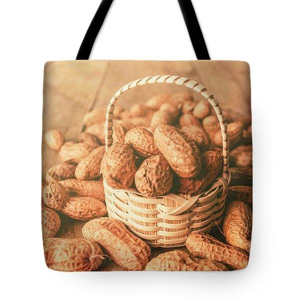Nut Basket Case Tote Bag