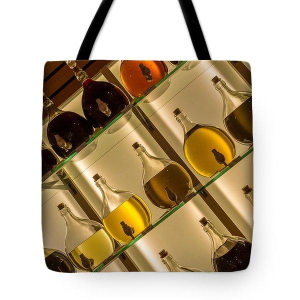 Nut-oil Carafes On Display Tote Bag
