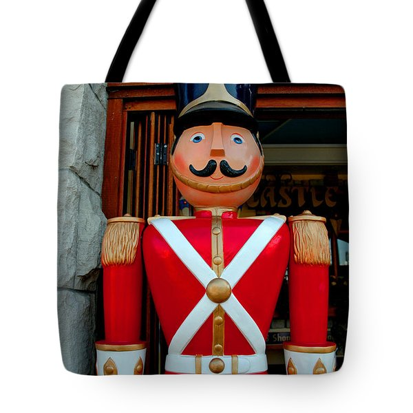 Tote Bag featuring the photograph Nutcracker Protector by LeeAnn McLaneGoetz McLaneGoetzStudioLLCcom