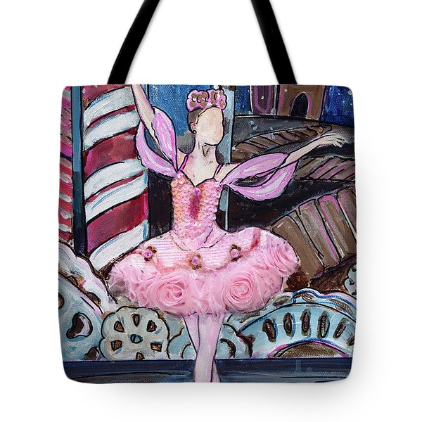 Nutcracker Sugar Plum Fairy Tote Bag
