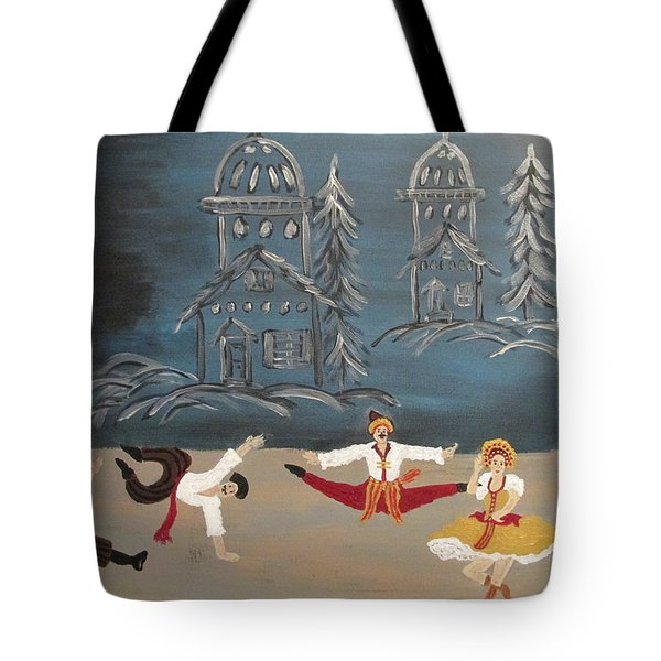 Nutcrackers Dance Of Russian Cossacks Tote Bag