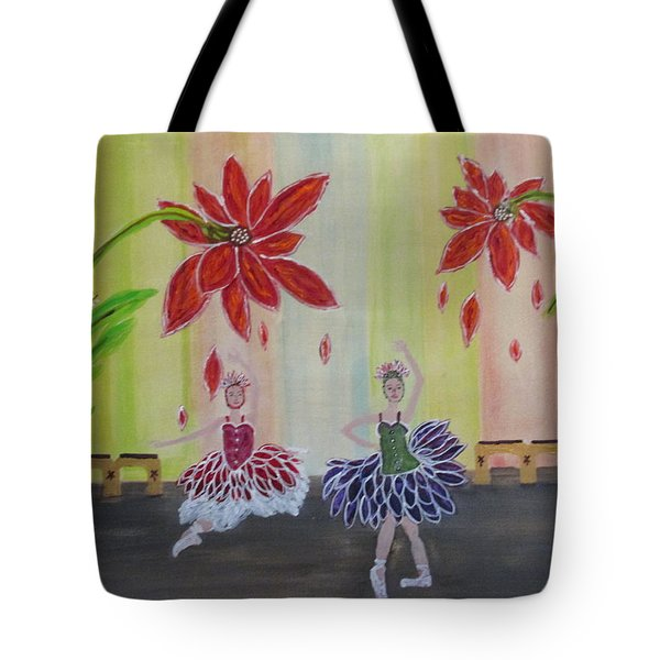 Nutcrackers Waltz Of The Flowers Tote Bag