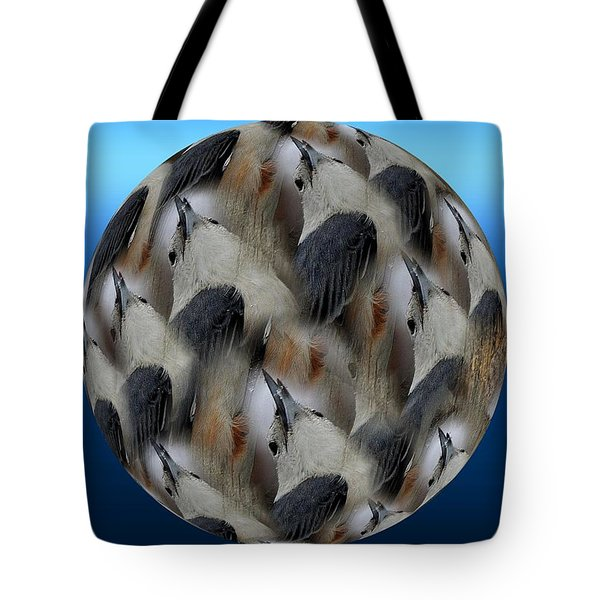 Nuthatch # 3 Tote Bag