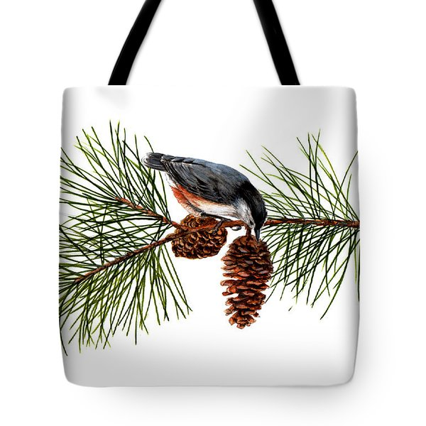 Nuthatch 1 Tote Bag