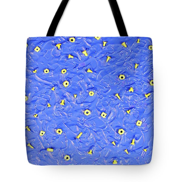 Tote Bag featuring the painting Nuts And Bolts by Thomas Blood