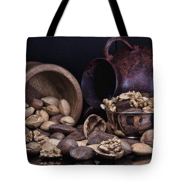 Nuts Tote Bag by Tom Mc Nemar