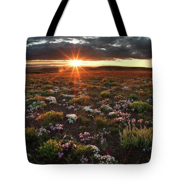 Nuttalls Linanthastrum Tote Bag by Leland D Howard