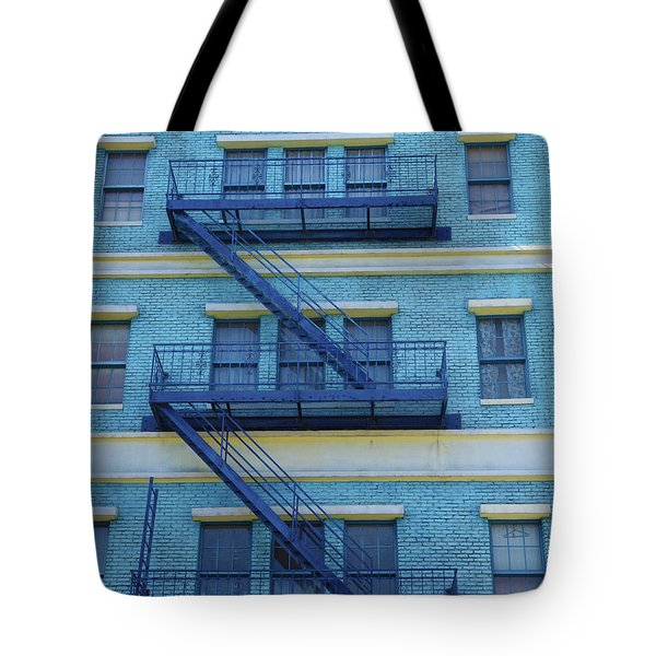 Tote Bag featuring the photograph Ny 1936 by Marie Leslie