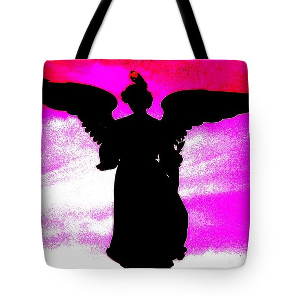 Ny Angel Tote Bag by Daniele Smith