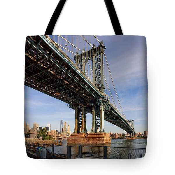 Ny Steel Tote Bag by Anthony Fields