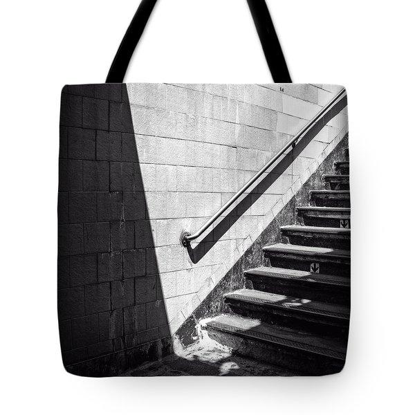 Ny Subway Stairs Tote Bag
