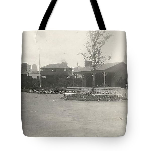 N.y. Worlds Fair 3 Tote Bag by Michael Krek