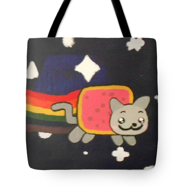 Nyan Catoil On Canvas Tote Bag