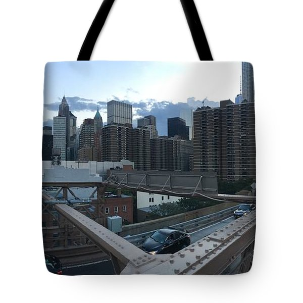 NYC Tote Bag by Ashley Torres