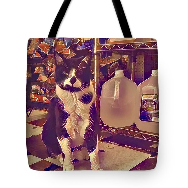Nyc Bodega Cat Tote Bag