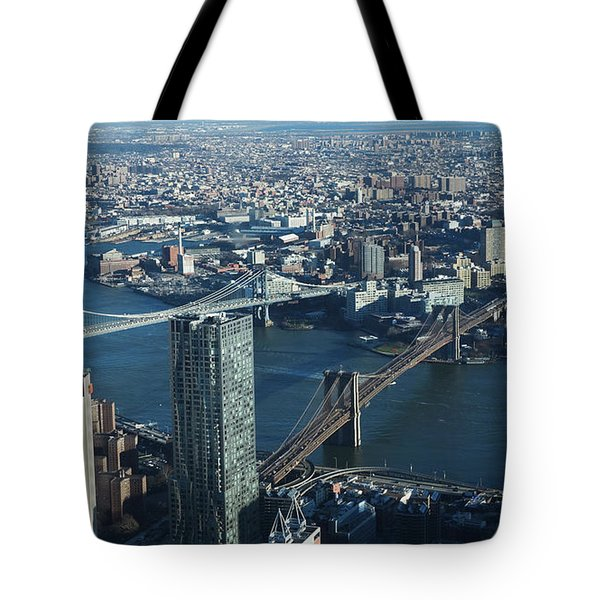 Nyc Bridges Tote Bag