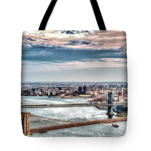 Nyc Bridges Tote Bag