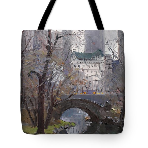 Nyc Central Park Tote Bag