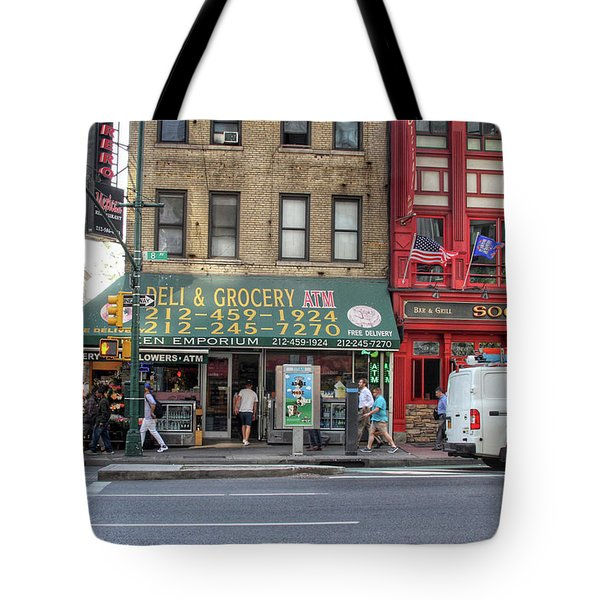 Nyc Deli And Grocery  Tote Bag