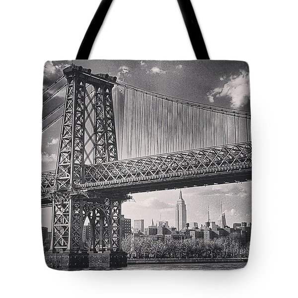 Verrazano Bridge Ny Tote Bag