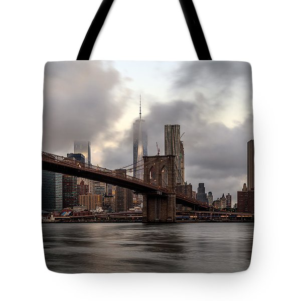 Nyc In The Am Tote Bag