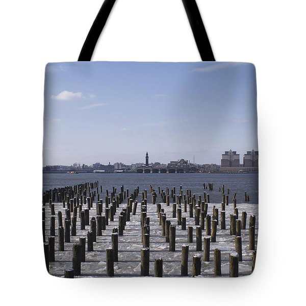 New York City Piers  Tote Bag