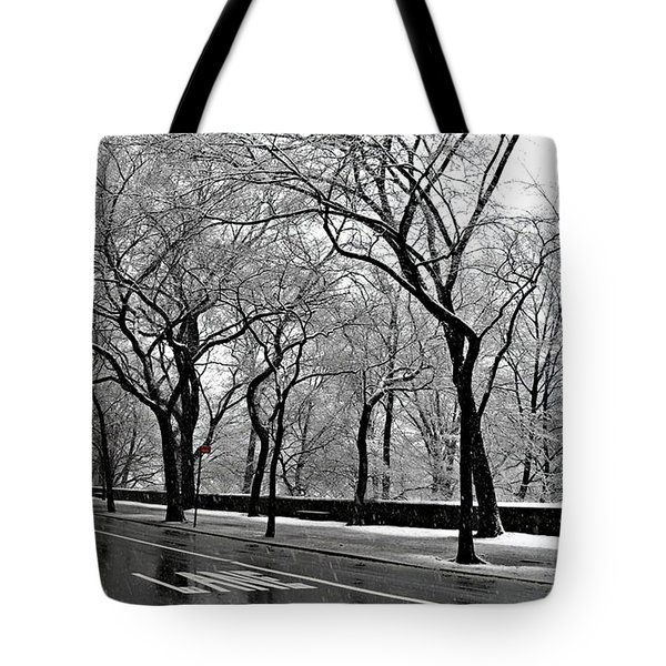 Nyc Winter Wonderland Tote Bag