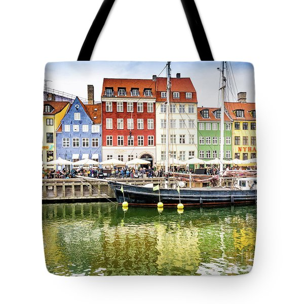 Nyhavn, Copenhagen Tote Bag