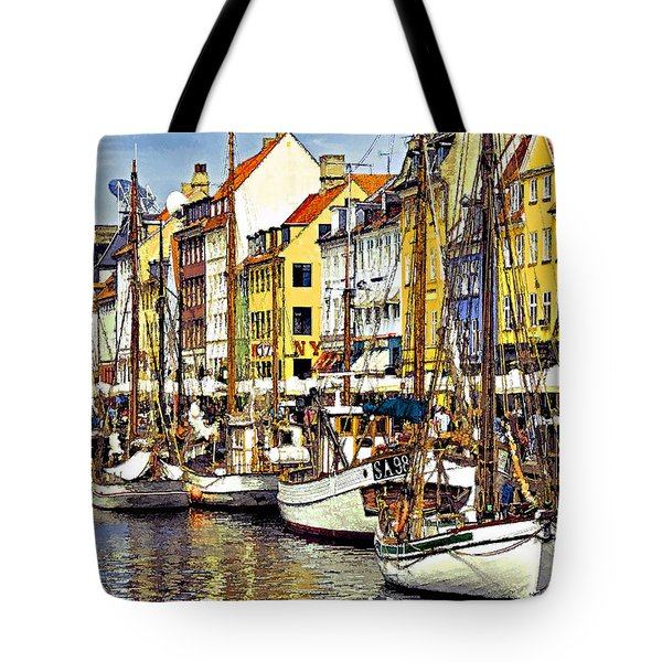 Nyhavn Tote Bag by Dennis Cox WorldViews