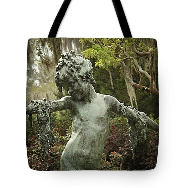 Wood Nymph Tote Bag