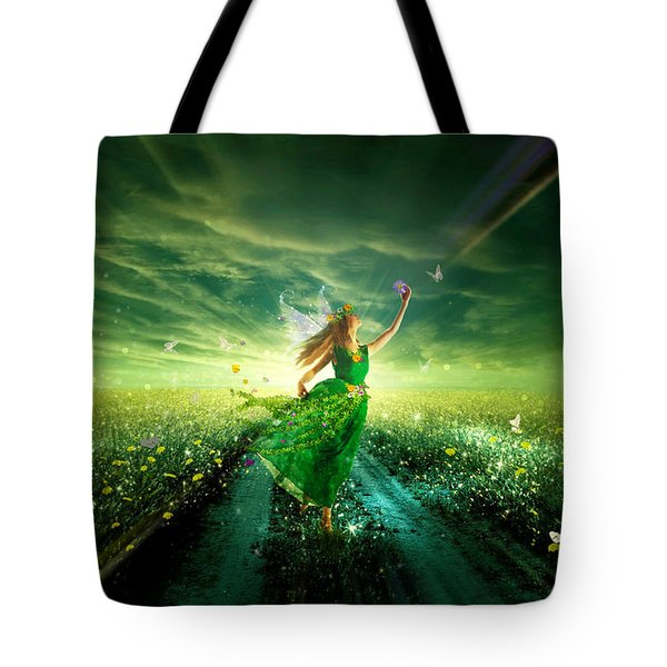 Nymph Of July Tote Bag