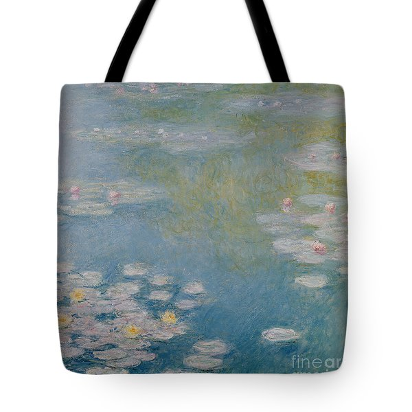 Nympheas At Giverny Tote Bag by Claude Monet