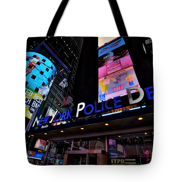 Nypd Tote Bag