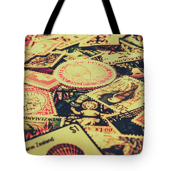 Nz Post Background Tote Bag