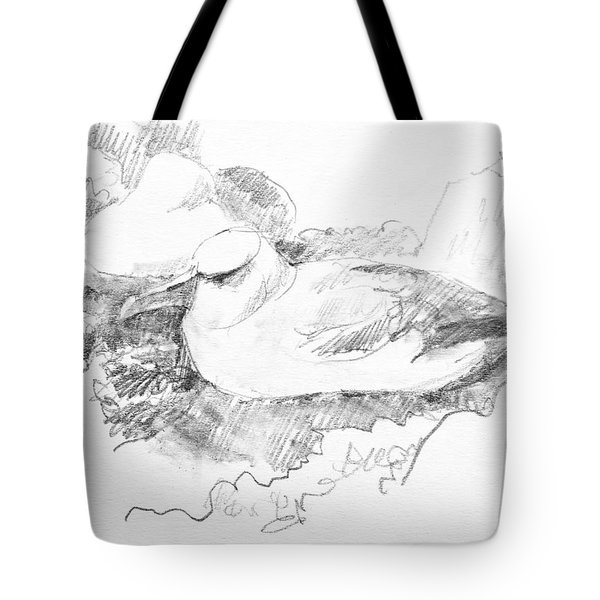New Zealand White-capped Mollymawk Tote Bag