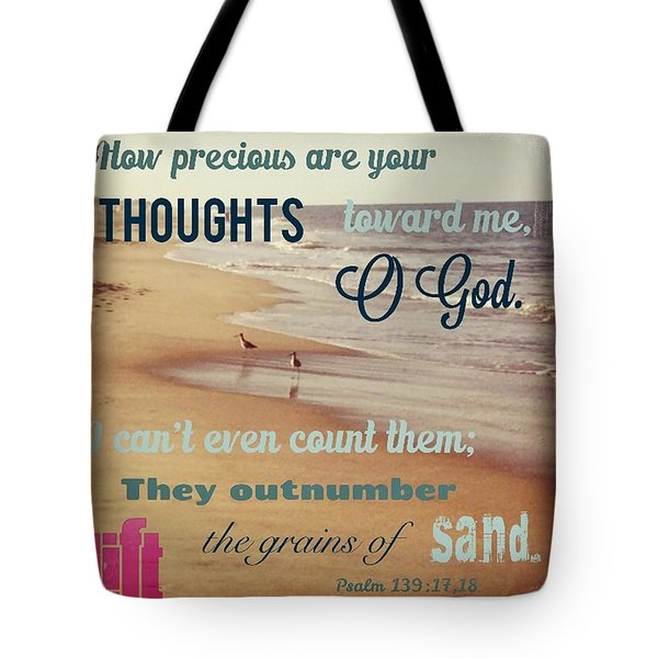 O Lord, You Have Examined My Heart  And Tote Bag