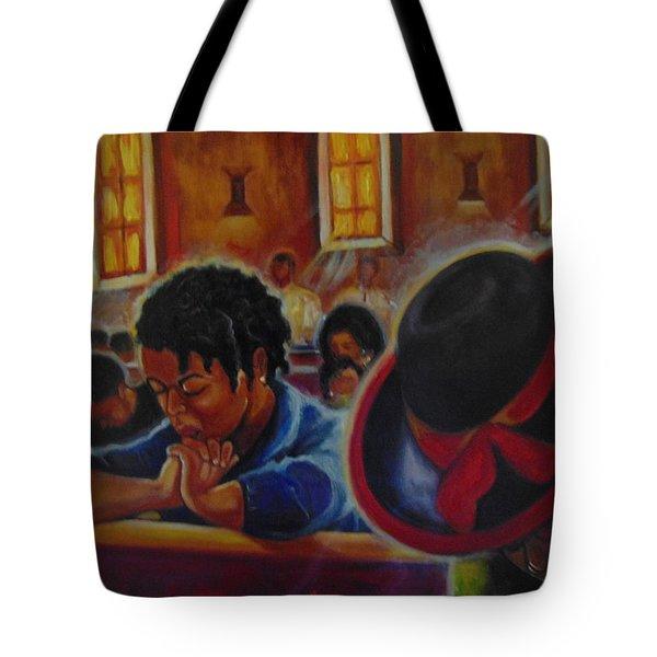 O My God Tote Bag by Emery Franklin