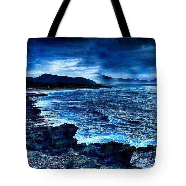 Oahu Coastline Tote Bag