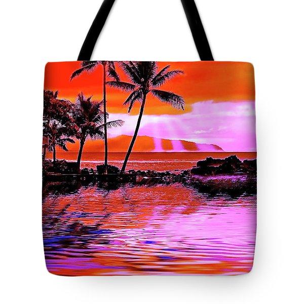 Oahu Island Tote Bag