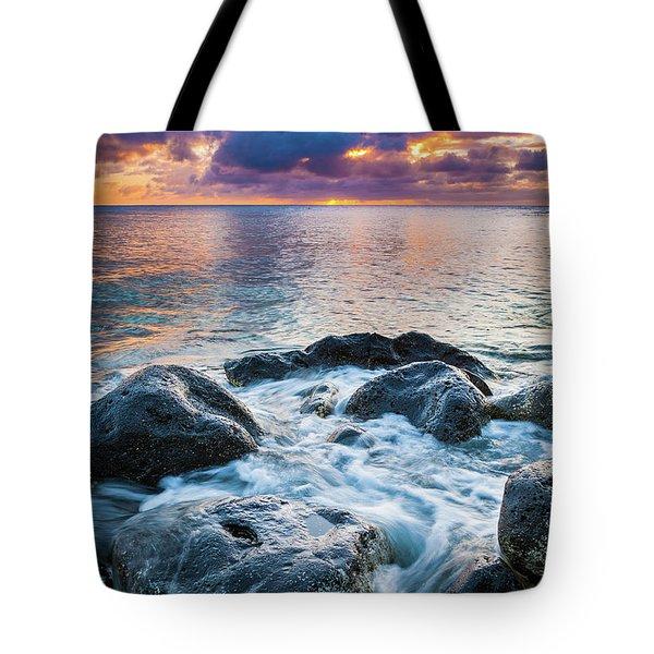 Oahu Shoreline Tote Bag