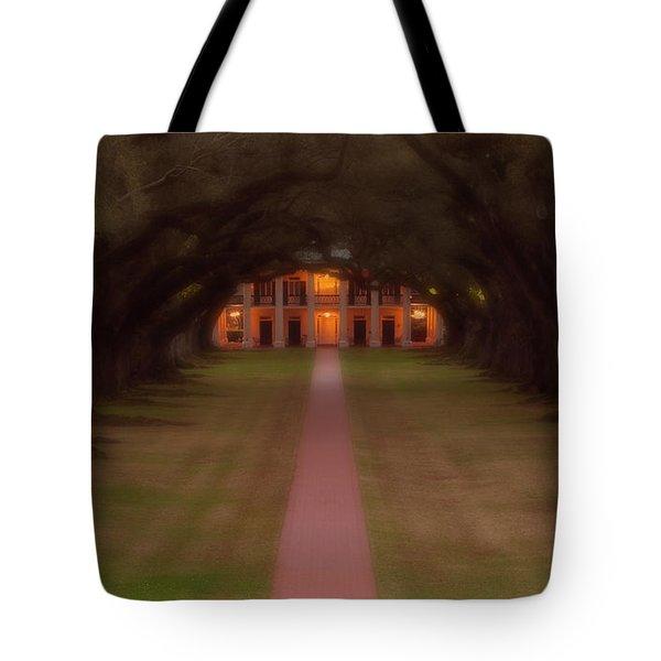 Oak Alley Plantation Tote Bag by Jonas Wingfield