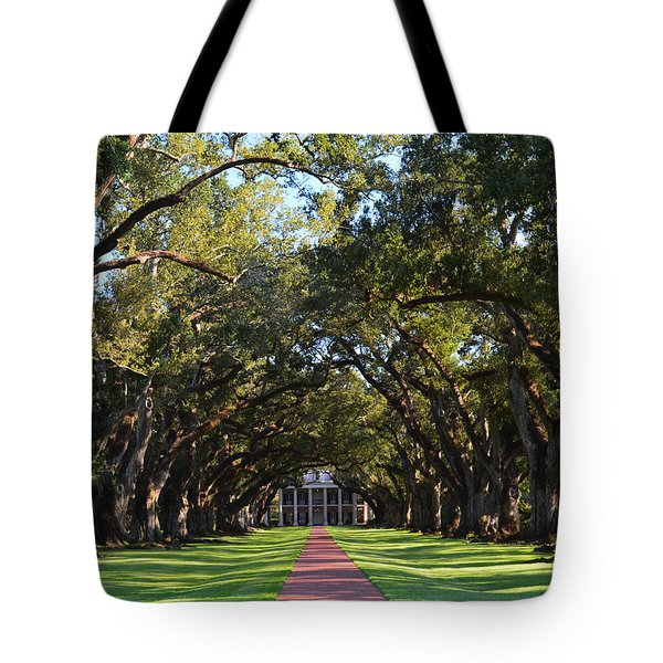 Oak Alley Plantation Tote Bag by Maggy Marsh