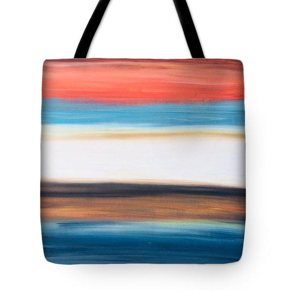 Oak Creek #29 Southwest Landscape Original Fine Art Acrylic On Canvas Tote Bag