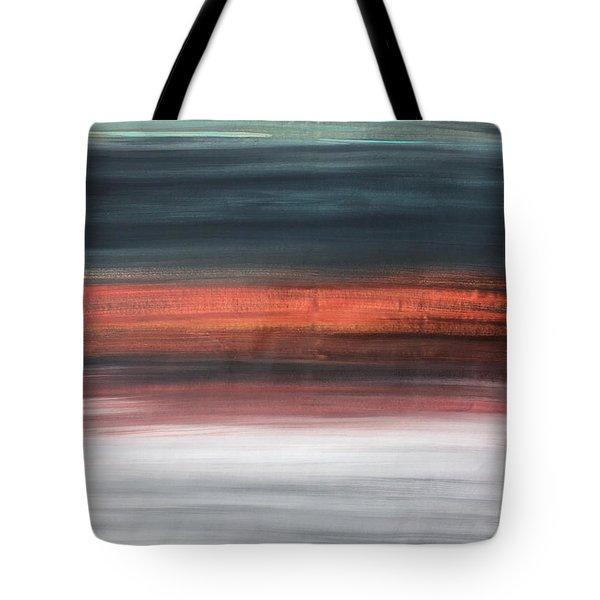 Oak Creek #30 Southwest Landscape Original Fine Art Acrylic On Canvas Tote Bag