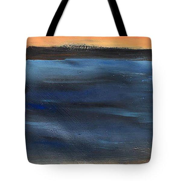 Oak Creek #31 Southwest Landscape Original Fine Art Acrylic On Canvas Tote Bag