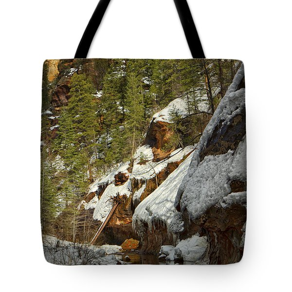 Oak Creek Beckons Tote Bag by Tom Kelly