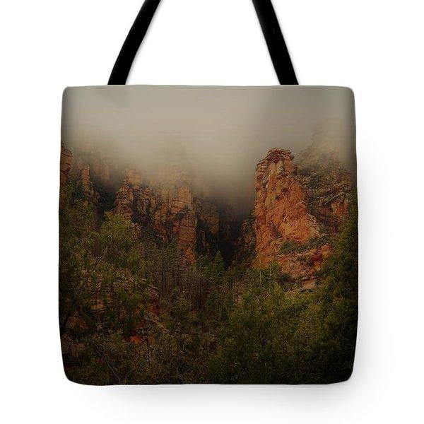 Oak Creek Canyon Arizona Tote Bag