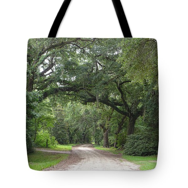 Oak Laden Back Road Tote Bag
