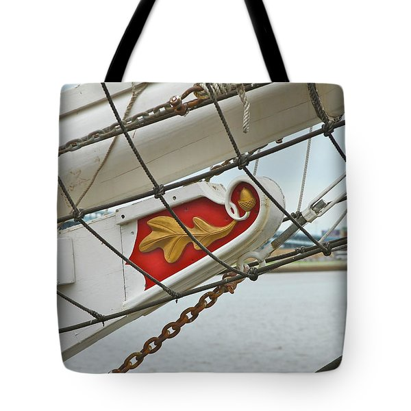 Oak Leaf Tote Bag by Rick  Monyahan